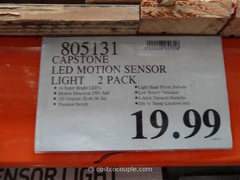 led wireless motion sensor light costco costco motion sensor light ask home design