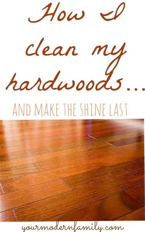 hometalk the best way to clean hardwood floors dark floors