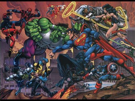 dc comics vs marvel superheroes wallpaper justice league and images cool hd wallpaper and