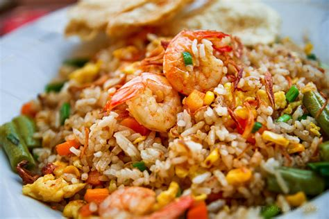 indonesian recipes english nasi goreng udang