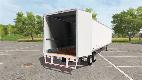 Or 2017 Trailer Wabash Semitrailer For Farming Simulator 2017