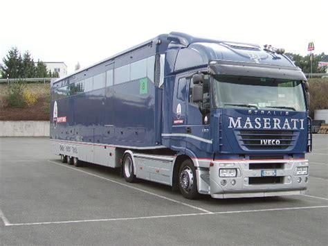 maserati truck ein iveco maserati truck in herborn am 02 04 08
