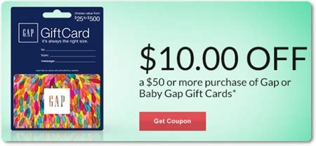 Baby Gap Gift Cards - i heart rite aid rite aid facebook coupons 05 05 14