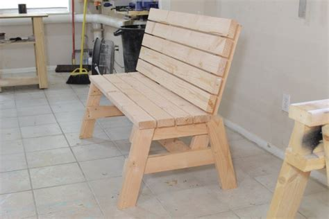 easy 2x4 bench how to build a comfortable 2 215 4 bench and side table jays