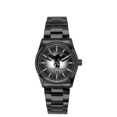 zadig montre pour femme et voltaire ange bracelet acier