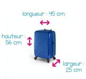 valise cabine normes sur la taille et le poids de votre