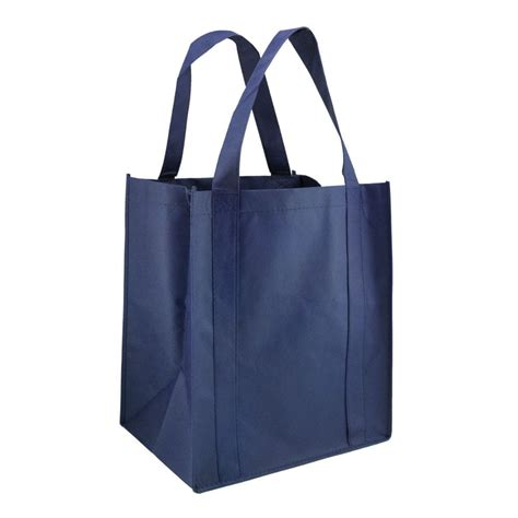 Eco Friendly Um Tote It Or It by 60 Units Of Eco Friendly Reusable Shopping Tote In Blue