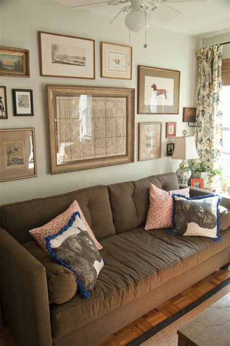 art above sofa staggering unique collage picture frames decorating ideas