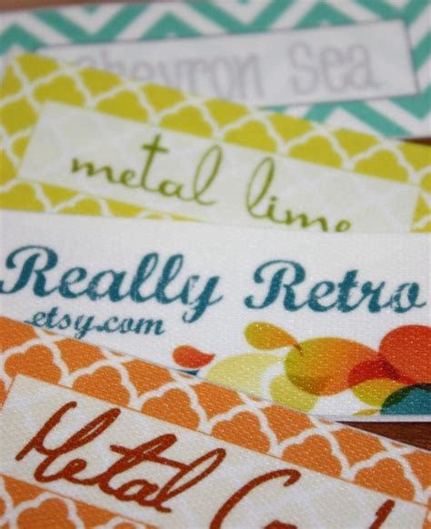 Custom Fabric Labels For Handmade Items - these are my favorite labels for my items 120 custom