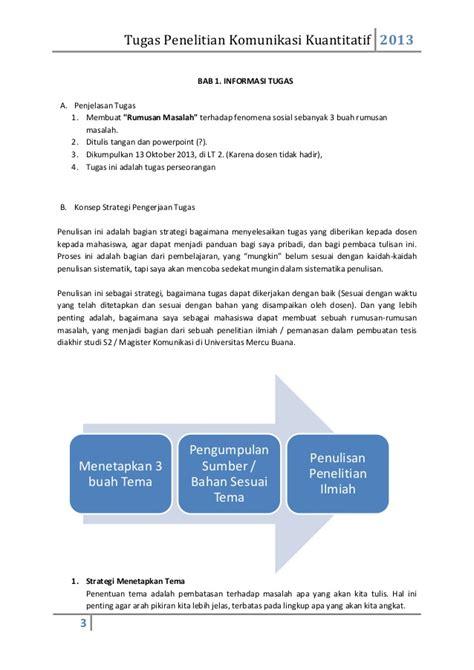 membuat rumusan masalah strategi penyelesaian tugas membuat rumusan masalah 3 kasus