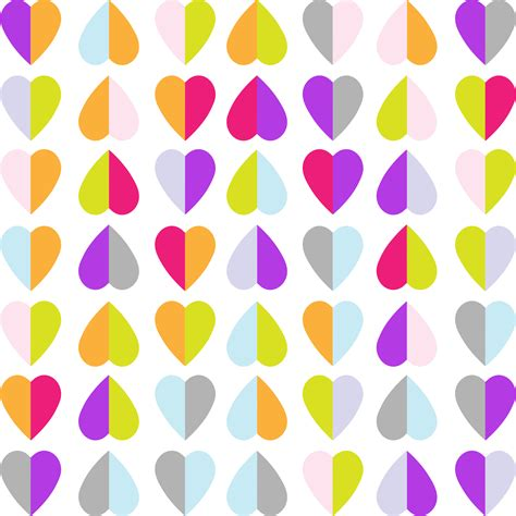 heart pattern png clipart colorful hearts pattern wallpaper