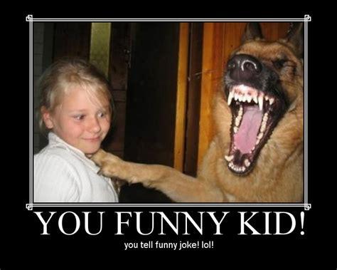 Dog Laughing Meme - lol kid you funny threadbombing