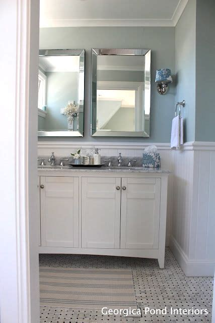 hamptons style in australia � home tour bathrooms