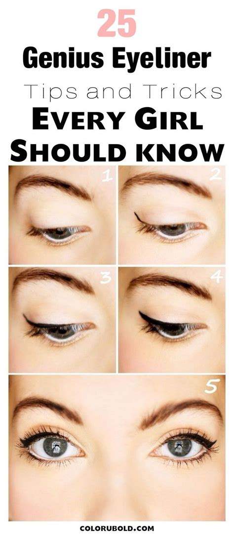 eyeliner tutorial with pencil 25 best ideas about eyeliner for beginners on pinterest