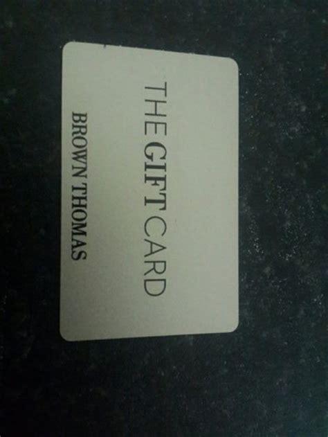 Brown Thomas Gift Card - 100 euro brown thomas gift card for sale in christchurch dublin from aqeel alrubaie