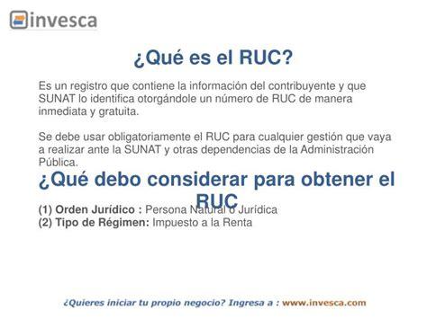 inscripcion ruc para ong sunat ppt inscripci 211 n en el registro 218 nico de contribuyentes