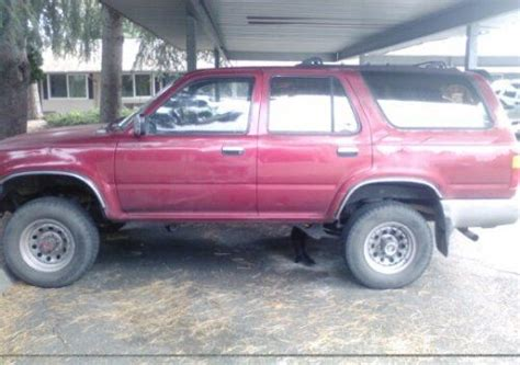 Used Toyota 4runner For Sale By Owner Cheap Toyota 4runner Suv For Sale By Owner 2000 In