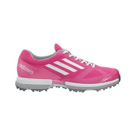 adidas adizero sport golf shoes womens pink  intheholegolfcom
