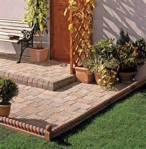 Cheap Patio Options Patio Edging Ideas Love The Garden