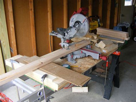 download workbench plans with recessed miter saw plans free