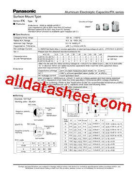 panasonic capacitors pdf panasonic electrolytic capacitors datasheet 28 images panasonic ts uq series aluminum