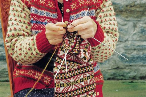 how to knit fair isle fair isle shetland visitor