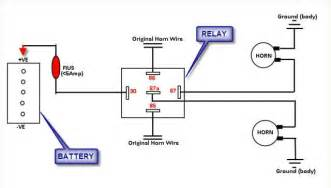 wiring diagram of horn relay hd image, Wiring diagram