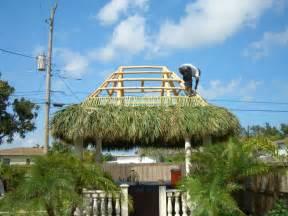 Tiki Hut Chickee Huts Tiki Huts Thatch Roof New Chickee Hut