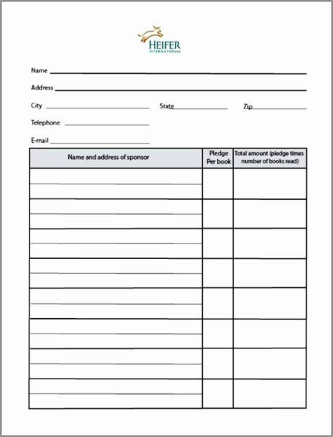 5 Blank Sponsorship Form Template Retoi Templatesz234 Sponsorship Template Doc