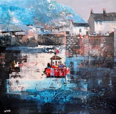 semi abstract british art  paintings  british artists