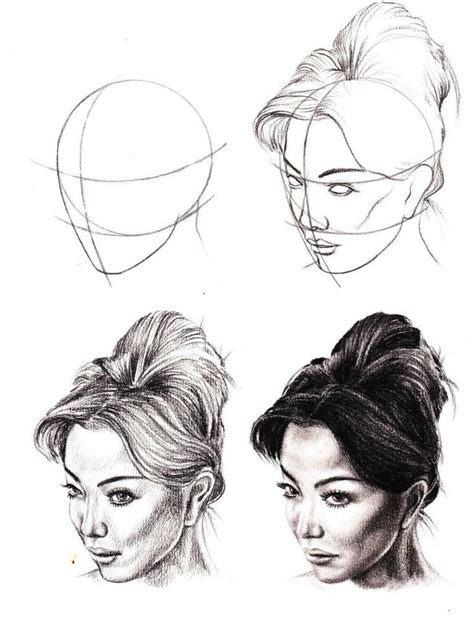 tutorial design sketching pencil drawing how to diy drawing tutorials pinterest