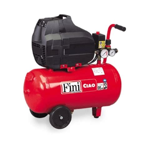 fini ciao 25 1850 portable air compressor direct drive free 1 5hp 6 3 cfm with 24 litre tank
