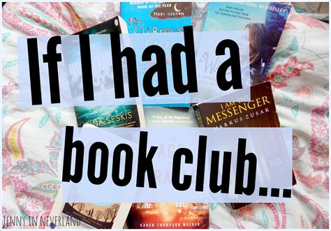 if my books had pictures if i had a book club in neverland