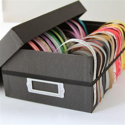 handwerk schrank organisation ideen die besten 25 stoffbandaufbewahrung ideen auf