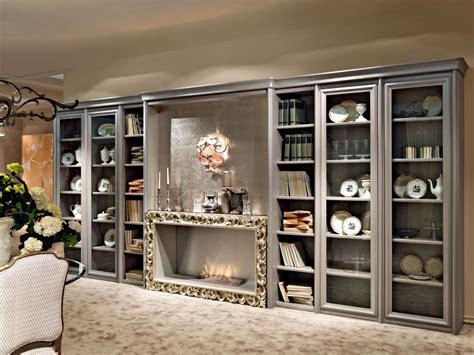 librerie salotto librerie classiche per l arredamento classico