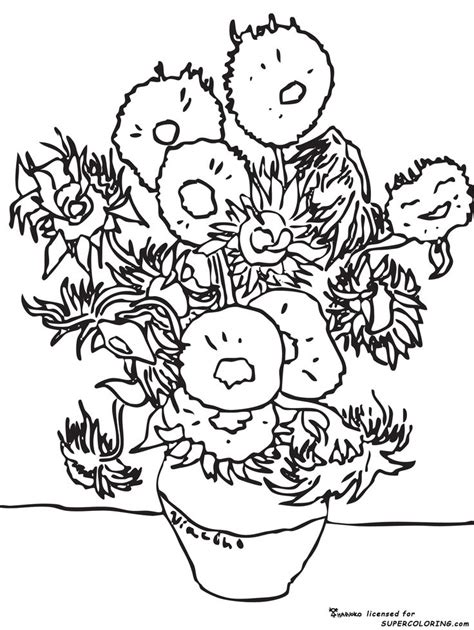 famous artists coloring pages coloring home