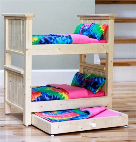 American Bunk Bed by American Doll Bunk Bed Decorate My House