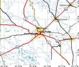 waycross ga 31501 profile population maps
