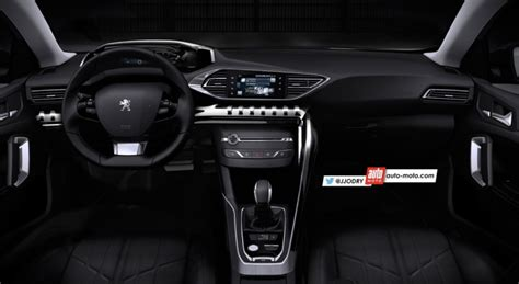 peugeot 3008 2016 interior 2016 peugeot 3008 interior rendering indian autos blog