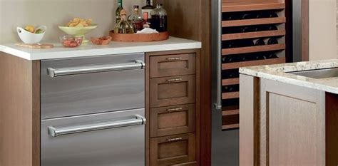 sub zero refrigerator drawers with ice maker sub zero id 30ci 30 quot integrated double drawer refrigerator