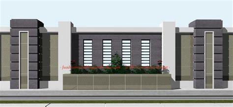40 Model Pagar Tembok Minimalis   Desainrumahnya.com