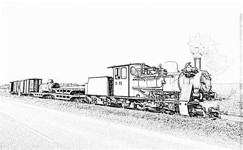 Coloriage Locomotive Wagons 4 224 Imprimer Pour Les Enfants Coloriage Train Wagon Imprimer L