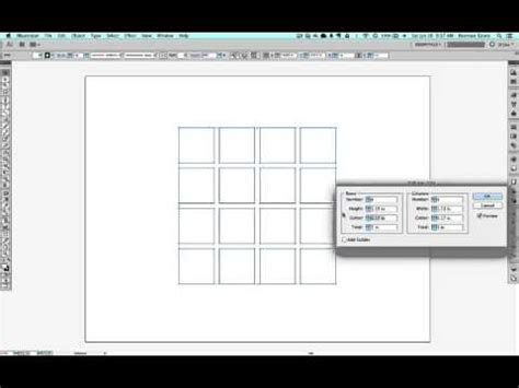 grid pattern for illustrator making grids in illustrator made easy youtube