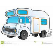 Packwagen Der Karikatur Lizenzfreie Stockfotografie Bild 24893167