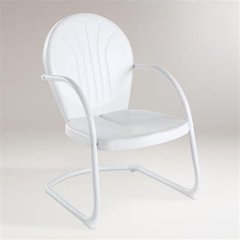world market metal chairs white durresi metal chair world market