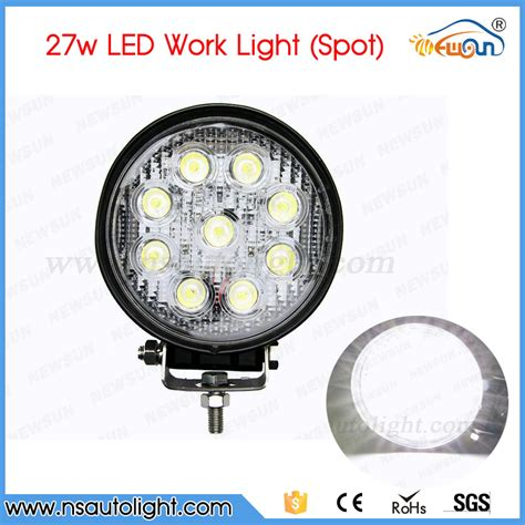 led tractor light bar free shipping 2pcs atv 4inch 27w led work light l 12v