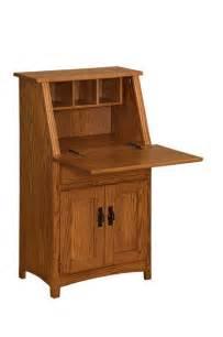 Mini Roll Top Desk Amish Secretary Desk