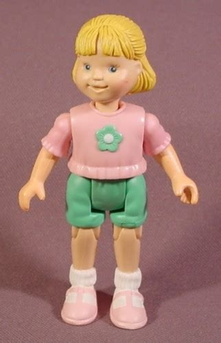 doll house figurines fisher price loving family dollhouse 1998 girl daughter sister figure blonde hair doll house