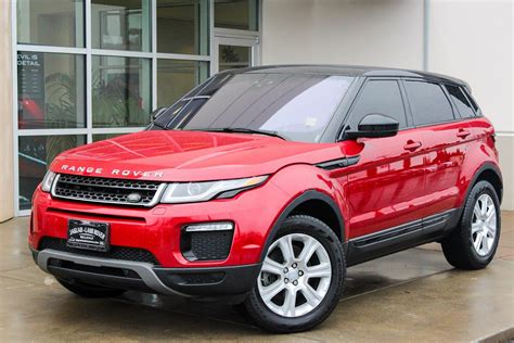 certified pre owned land rover certified pre owned 2016 land rover range rover evoque se