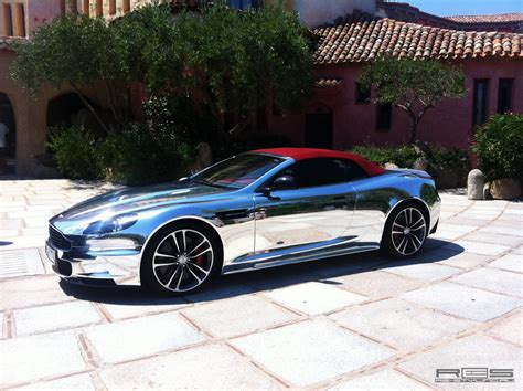 chrome aston martin russians make chrome aston martin dbs autoevolution